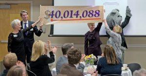 Foundation Banquet - Campaign Total $40,014,088